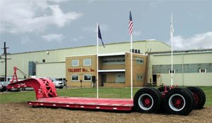 Talbert Double Drop Trailers for Sale